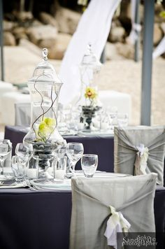 contemporary table decor.  Wedding coordination and design by www.thedazzlingdetails.com Decor Wedding, Wedding Decorations, Wedding Ideas, Table Decorations, Contemporary Wedding Decor, Wedding Stuff, Dream Wedding, Lake Geneva, Southern Weddings