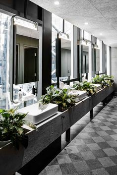 - It's possible to create a playful bathroom interior with different colours. Washroom Design, Bathroom Design Layout, Best Bathroom Designs, Modern Bathroom Design, Bathroom Ideas, Bathroom Organization, Bath Ideas, Bathroom Storage, Minimal Bathroom