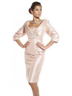 Tubino Senza Spalline Taffettà Mother Of The Bride Dress 57b445bb50c