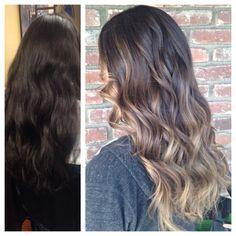 Before/after Hair by Megan Lenton @ salon del sol   http://meganlenton.wix.com/hairandmakeup