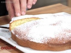 ▶ Torta allo yogurt: ricetta e video tutorial - YouTube