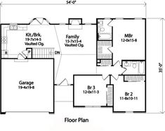 Plan No.412342 House Plans by WestHomePlanners.com