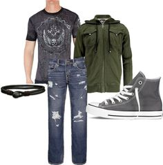 """Senior Guy Outfit #3"" by kristinalynnphoto on Polyvore"