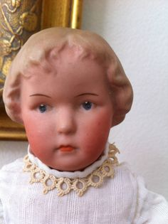 RARE Antique German Heubach Character Girl Doll | eBay
