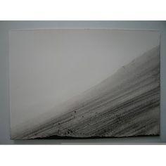 "Water Drawing No. 058 (2008) by Artist: Teresa Pereda | Soil, Coal on Paper | Size: 27.6"" x 19.7"" 70 x 50 cm. | http://www.objectmythology.com/"
