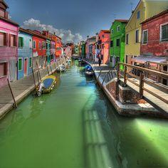 Burano, Italy....amazing colours