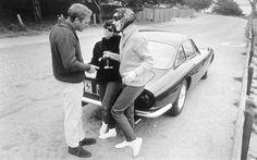 Steve McQueen, a 1963 Ferrari 260 GT Lusso