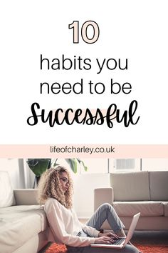 Pick up these daily habits to create a girl boss lifestyle. How to be a girl boss! #girlboss #successmindset Your Best Life Now, Life Is Good, Success Mindset, Girl Boss, Personal Development, Are You Happy, How To Become, Lifestyle, Create