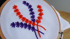 Hello! Today we are making branches with lazy daisy stitch. I used dmc embroidery thread on broad cloth.Please don't forget to like, share and subscribe!