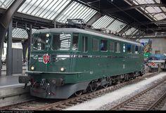 RailPictures.Net Photo: 11411 SBB Historic Ae 6/6 at Zürich, Switzerland by Georg Trüb