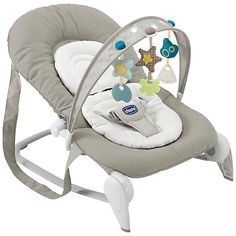 Buy Chicco Hoopla Baby Bouncer, Silver Online at johnlewis.com