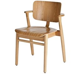 For Sale on - Ilmari Tapiovaara Domus chair in natural oak for Artek. Designed in 1946 and produced by Artek of Finland. Executed in natural lacquered oak wood. Inexpensive Furniture, Cool Furniture, Modern Furniture, Furniture Design, Furniture Chairs, Oakwood Furniture, Dream Furniture, Furniture Ideas, Scandinavian Chairs