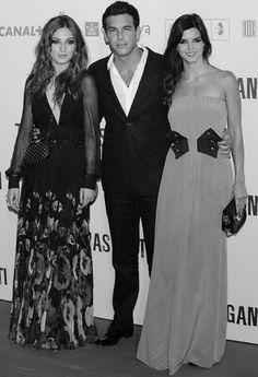 María Valverde, Mario Casas y Clara Lago
