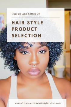 Best Tips for Successful Curly Natural Hair Styling Product Selection Hair Gel, Wet Hair, Night Time Routine, African American Hairstyles, Natural Hair Journey, Product Label, Hair Videos, The Selection, Curls