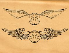 Golden Snitch Tattoo   by Blind Thistle