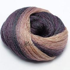 Gradient Baby Camel / Silk Yarn