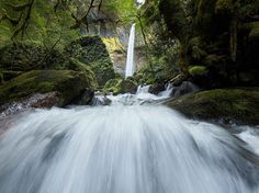 See a thrilling view of Oregon's Dry Creek Falls in this National Geographic Photo of the Day.