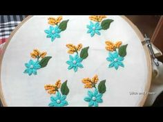Hand embroidery beautiful all over design for dress Designs For Dresses, Color Of Life, Hand Embroidery, Youtube, Beautiful, Simple Embroidery, Youtubers, Youtube Movies