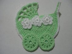 CROCHET APPLIQUE Stroller
