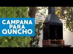 ¿Cómo hacer una campana para el quincho? - YouTube