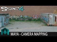 Camera Mapping in Maya - Create a scene from a image using camera mapping inside of Maya. This awesome technique can be used to create some amazi. Animation Reference, 3d Animation, Maya, Animation Tutorial, Modeling Tips, Projection Mapping, 3d Tutorial, Matte Painting, 3d Max