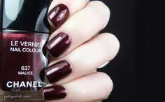 Polly Polish Swatch & Review: Chanel 'Malice'