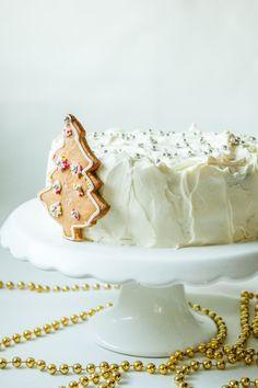 Tort, w którym zamknięte są moje ulubione świąteczne smaki. Zapraszam :).