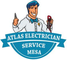 Atlas Electrician Service Mesa with over 40 employees and mobile service vehicles we try to give you single trip repair service for any electric requirements. Call us now on (480) 447-4947. #ElectriciansMesaAZ #BestElectricianMesa #ElectricalServiceMesaAZ #ElectricalContractorsMesaAZ #AtlasElectricianServiceMesa