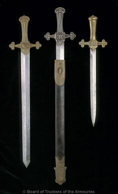 art-of-swords:    Bandsman's Sword  Dated: late 19th - early 20th century  Culture: British    Source & Copyright: Royal Armouries