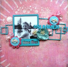 Time Flies by Cathi O'Neill - August Sketch Challenge