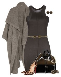"""Cozy On Up"" by lisa-holt ❤ liked on Polyvore featuring STELLA McCARTNEY, DRKSHDW, Kartell, Christian Louboutin and Chanel"
