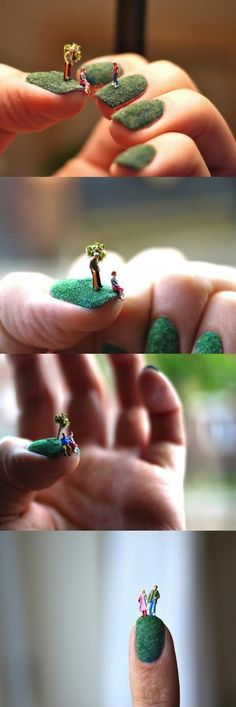 These are so cool! but I would not ever get them done