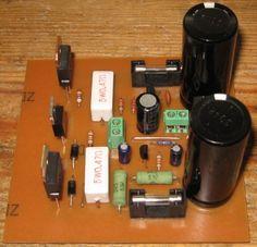 100w tip142 tip147 2 450x434 Amplificador simples com 100W de potência com transistor circuito audio circuito circuito amplificador