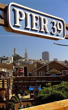 I dig the background from Pier 39 especially when it's a clear day like this.