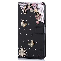 For S6 Edge Plus Phone Bag Luxury Bling Diamond Protective Wallet Cover Flip Stand Leather Case For Samsung Galaxy S6 Edge Plus