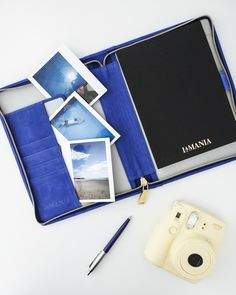 La Mania's leather organizer is the perfect everyday companion! Carry it in your bag or leave it on your desk for jotting down important tasks! #lamania #accessories