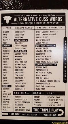 Alternative Cuss Words