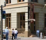 """""""The Bank"""" Mexican Restaurant is in the Temecula Old Town's financial district."""