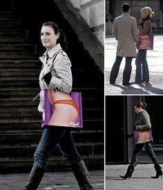 Blush Lingerie: X-Ray Bag, The Most Creative Shopping Bag Designs Ever Street Marketing, Guerilla Marketing, Creative Advertising, Advertising Ideas, Advertising Design, Shopping Bag Design, Shopping Bags, Bikini Shopping, Blush Lingerie