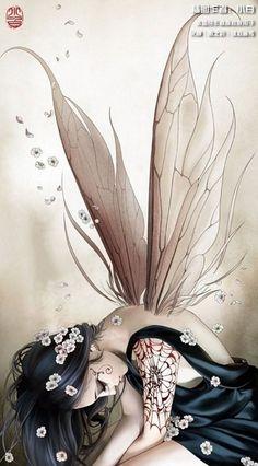 ✯ Artist Zhang Xiao Bai ✯I think this would make an awesome tattoo ~Leesha~