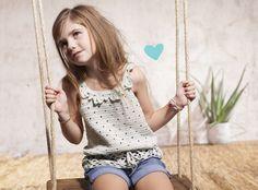 free crochet pattern girls top