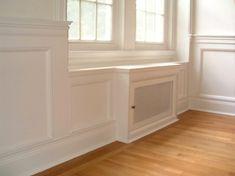 radiator cabinets builtins - Google Search
