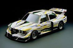 BMW 320i Group 5 Roy Lichtenstein