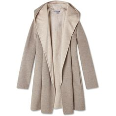 Vince Wool Drape Hooded Coat ($499) ❤ liked on Polyvore featuring outerwear, coats, jackets, coats & jackets, hooded coats, draped wool coat, drape coat, woolen coat and wool coat