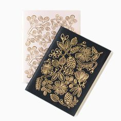 Notizhefte - Gold Foil 2er-Set