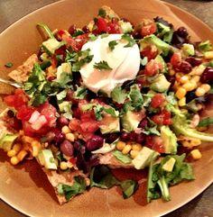 Veggie Taco Salad-looks and sounds amazing.