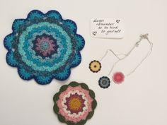 Sandra's Crochet Mandalas and Necklaces
