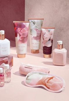 A selection of Ted Baker creams and even a floral face mask is also up for grabs at 50 per cent off