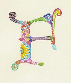 "Modern Illuminated Letter ""F"" | Flickr - Photo Sharing!"