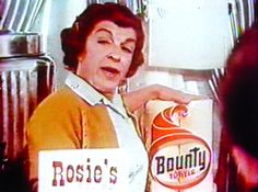"Bounty Paper Towel with NANCY WALKER. Vintage Commercial, ""Bounty, the quicker picker-upper"" Was she on THAT long ago? Over 50 years and I still remember these. Photo Vintage, Vintage Ads, Vintage Advertisements, Vintage Tools, My Childhood Memories, Sweet Memories, Ed Vedder, Retro Ads, I Remember When"